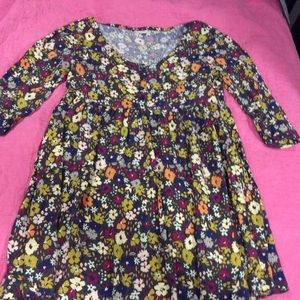 Fossil springtime floral dress with pockets, small